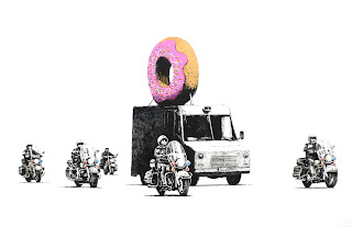 banksy donut