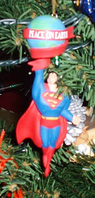Superman Ornament