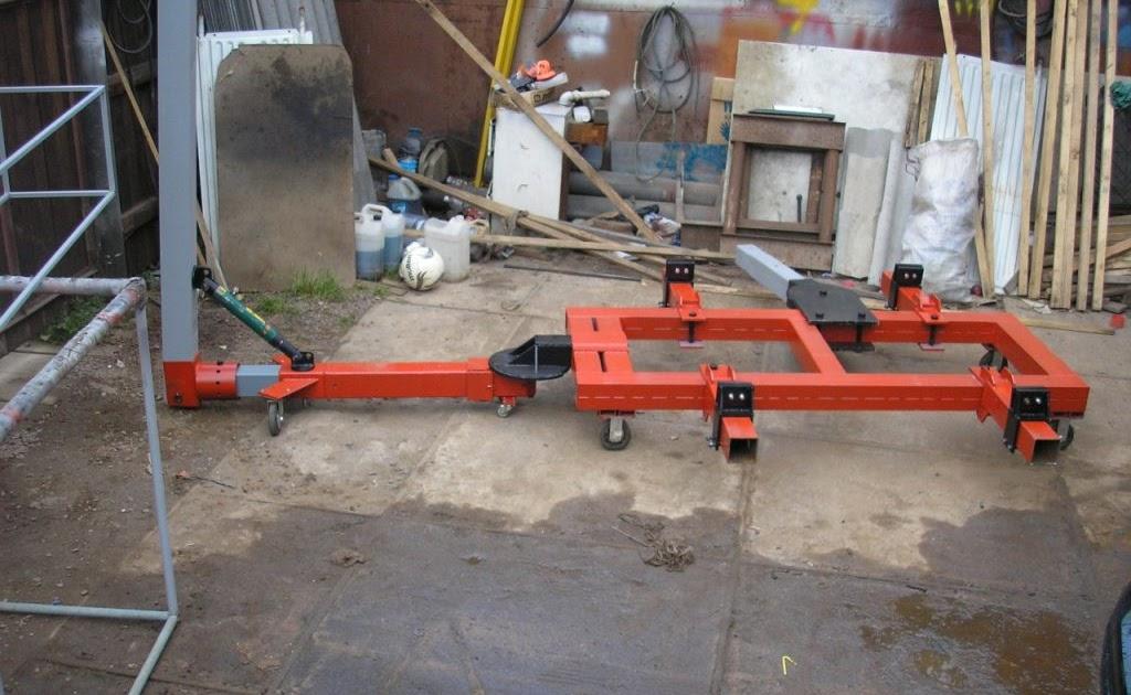 Самодельный стапель для кузовного ремонта своими руками