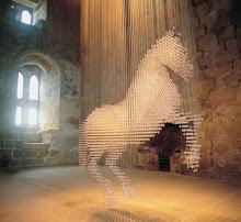 så vakkert! mange lysdioder små, gjør en hest så fin som få..