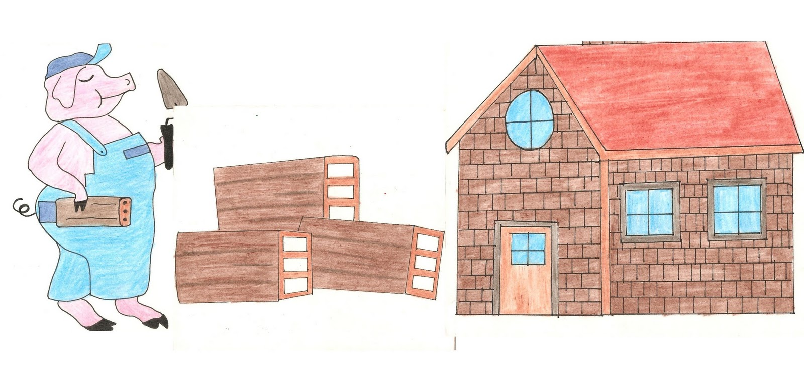 Pekeaula cuento los tres cerditos y concurso de casas - La casa de la construccion ...