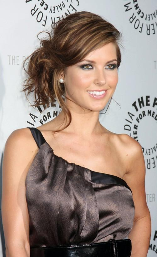 audrina patridge blonde hair color. Audrina Patridge from The