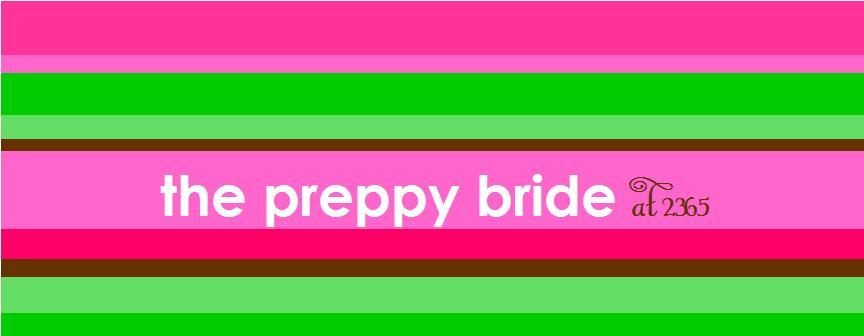The Preppy Bride at 2365