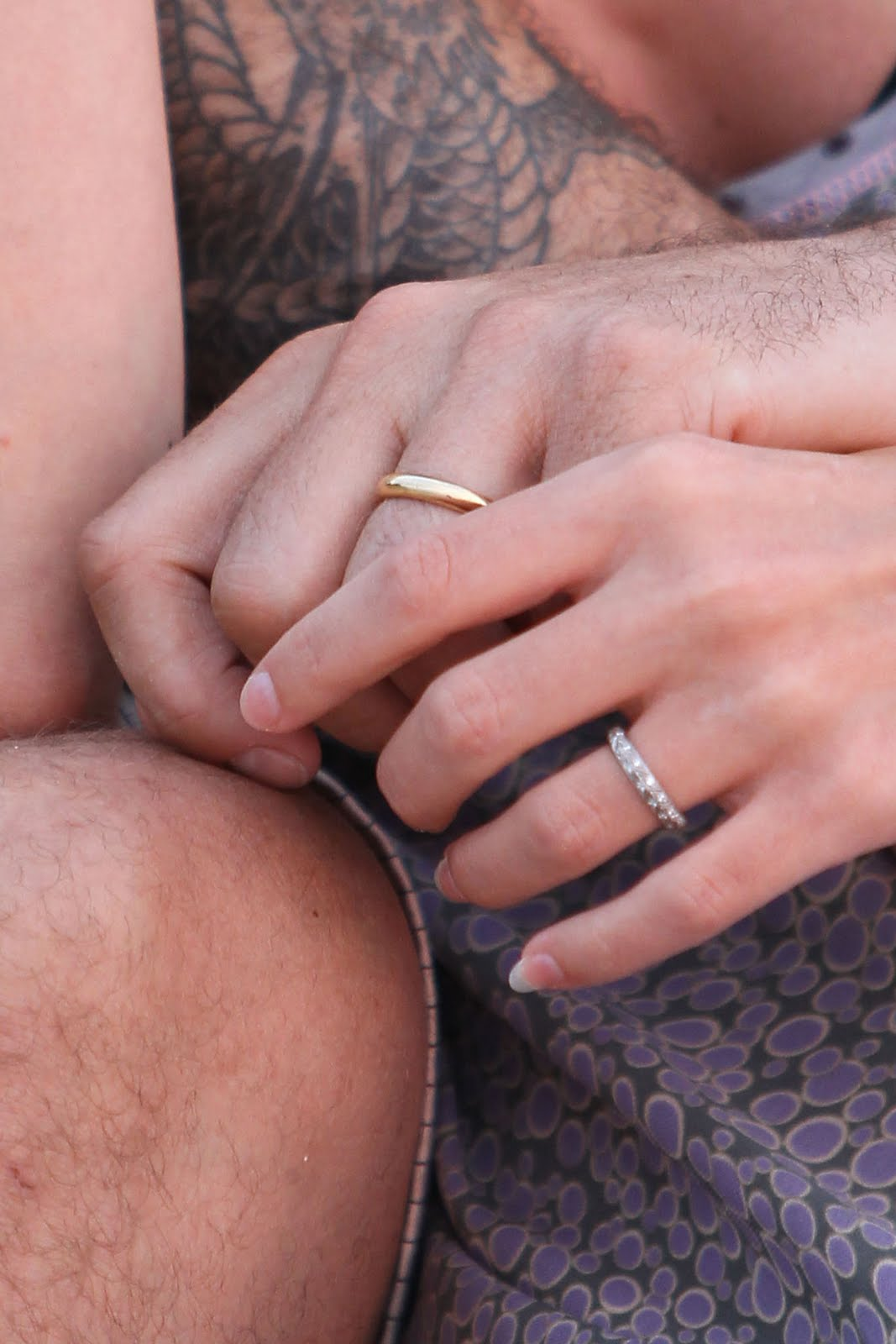 WEIRDLAND: Wedding bands, diamond rings