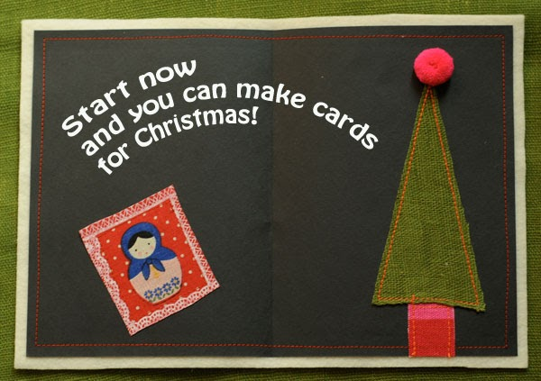 The Fable of the Table: Start now and you can make your own Christmas cards