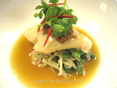 Wen 39 s delight chinese new year workshop menu 10 for Poaching fish in wine