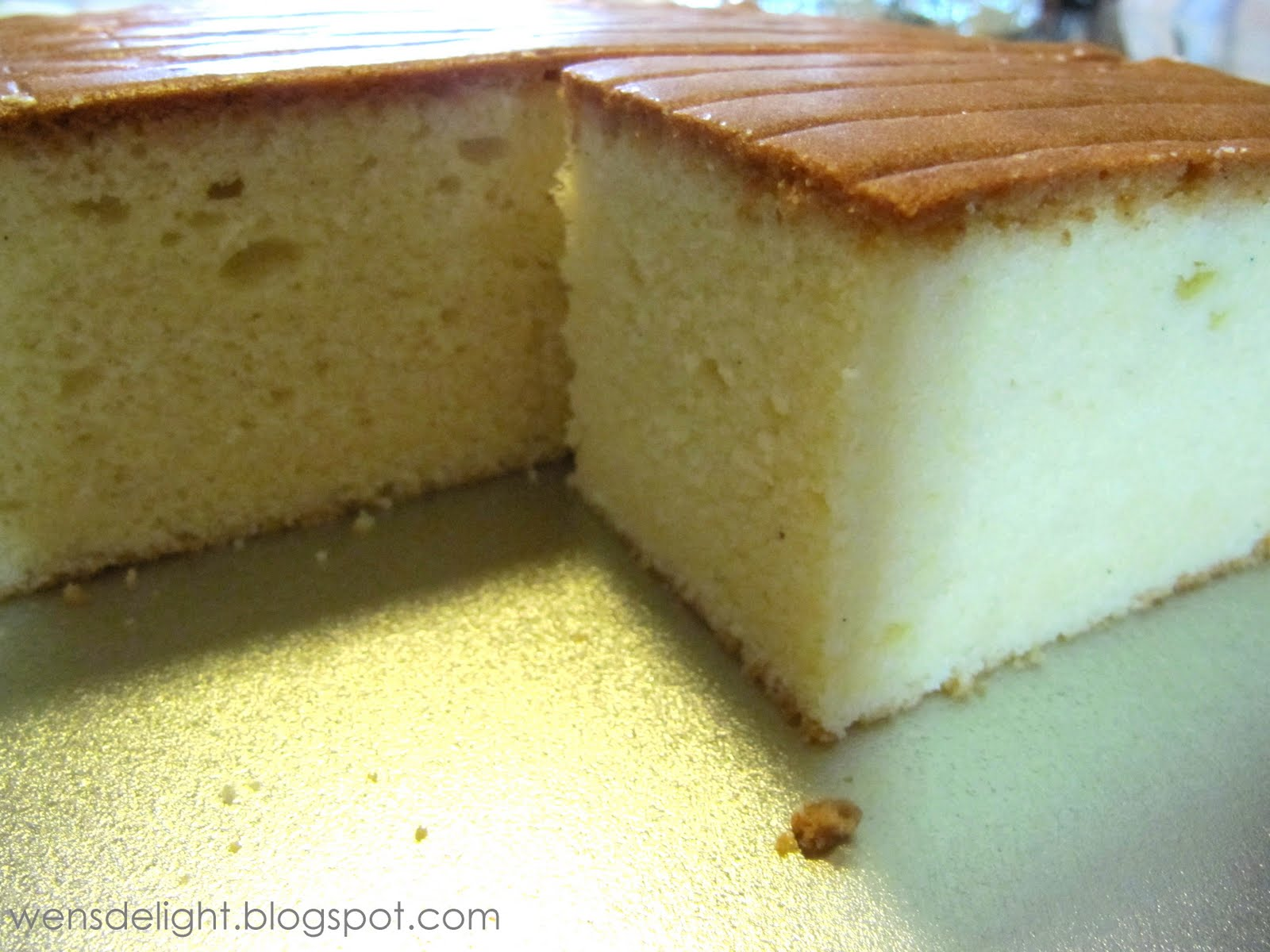 Wen's Delight: A Nice Butter Cake Recipe