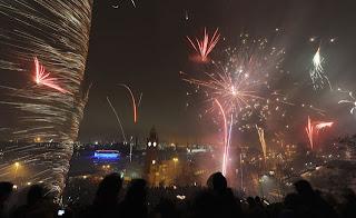 malam tahun baru di Banjarmasin