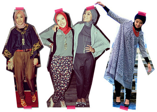 Malaysian/ Indonesian Islamic Fashion
