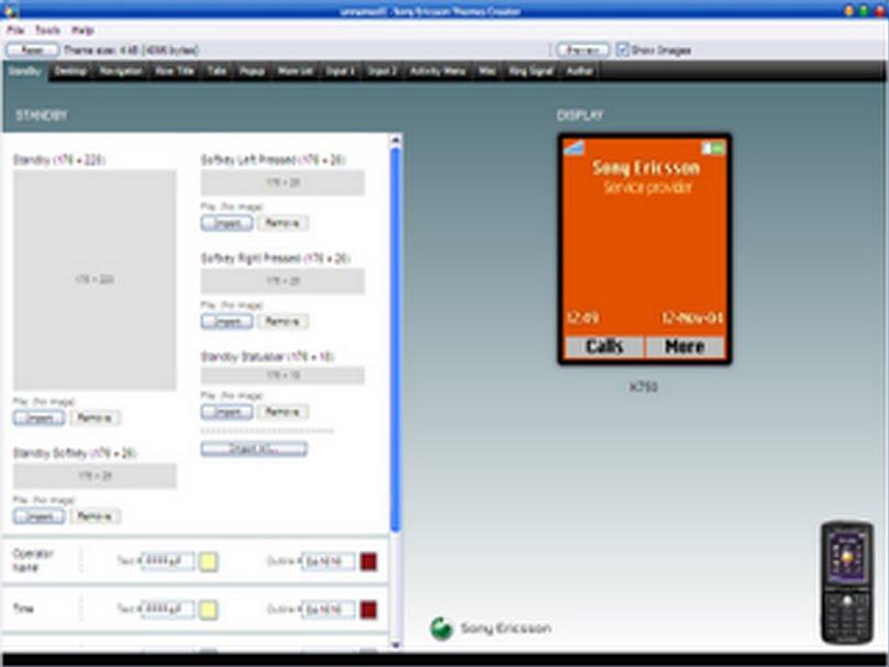 Aplikasi Pembuat Tema Untuk Ponsel Nokia Dan Sony Ericsson picture
