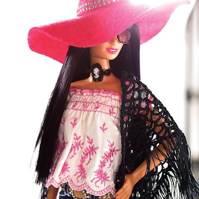 Popieces Barbie Fashion Book