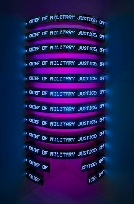Jenny Holzer  PROTECT PROTECT at Whitney