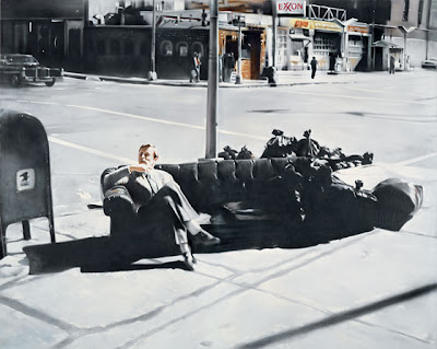 Martin Kippenbeberger at MOMA NY: An Untitled Kippenberger Painting from 1981