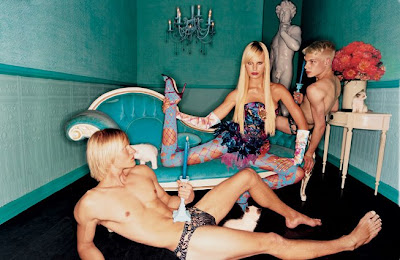 The Vanity Fair Spotlights: Karolina Kurkova by David LaChapelle