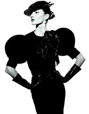Gisele Bündchen for Harper's Bazaar by Peter Lindbergh