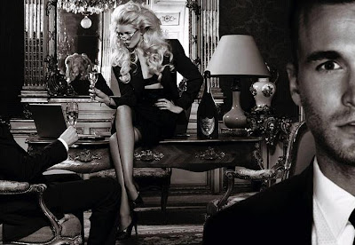 Claudia Schiffer for Dom Pérignon Enothéque by Karl Lagerfeld