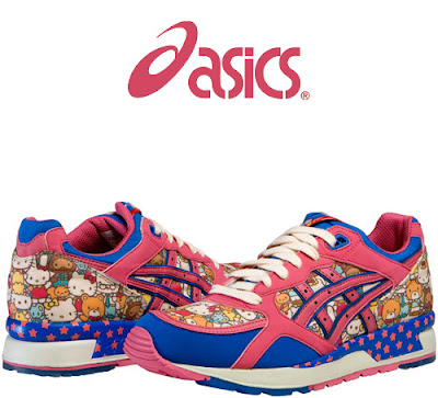 hello kitty friends pictures. Asics Gel Hello Kitty and