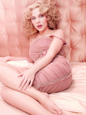 Scarlett Johansson for D&G Rose the One