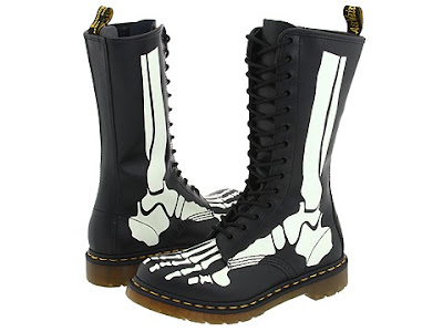 Dr. Martens The Skelly Glow in the Dark