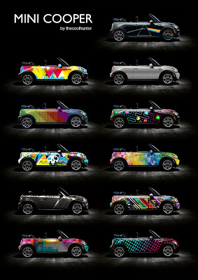 Mini Cooper Car Wraps by thecoolhunter