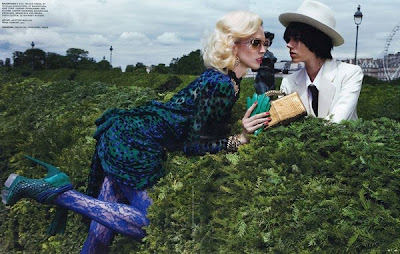 Inez & Vinoodh for W October 2009