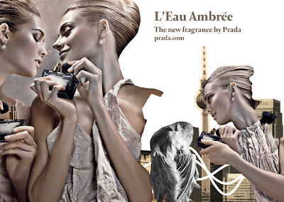 L'Eau Ambrée The New Fragrance by Prada