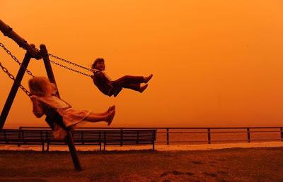 Dust Storm in Sydney, Australia