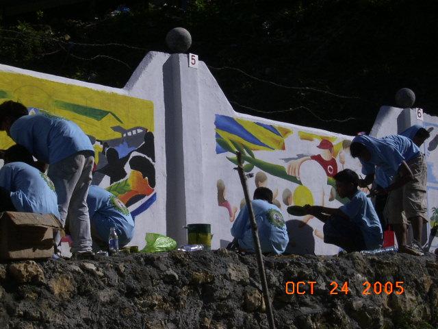 Mural Painting 2005