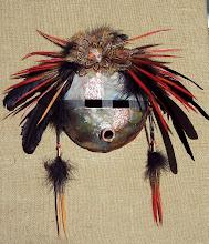 Raku Spirit Mask    -    J McEwen