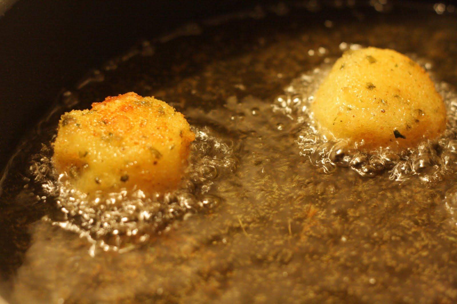 Quirks and Smirks: Fried German Dumplings