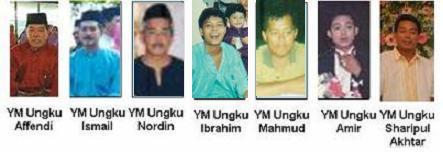 The Grandchildren Of Ungku Abdul Majid Ungku Ali & Tik Abdullah