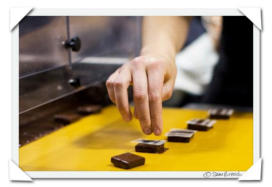 picture photograph image Serious Chocolate Class with Michael Recchiuti 2009 copyright of sam breach http://becksposhnosh.blogspot.com/