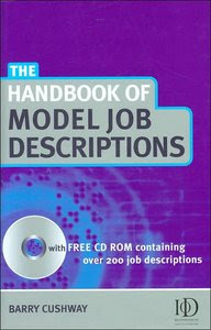 Handbook of Model Job Descriptions