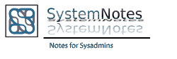 System Notes Org