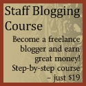 Click here to Staff Blogging Course