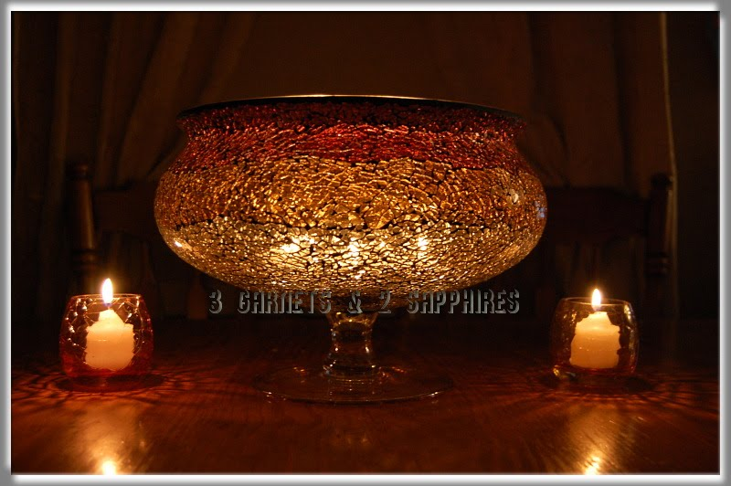 3 Garnets & 2 Sapphires: Giveaway & Review: Partylite Siena Lights Home Accents [CLOSED]