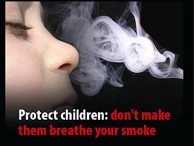 Passive smoking causes irreversible damage to kids' arteries