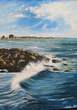 Mención de honor en el concurso marinista, contra viento y marea realizado en Mar del Plata en novi