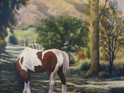 Cuadro pintado en Merlo