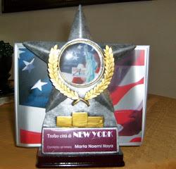 Trofeo Ciudad New York, por la obra Leonel