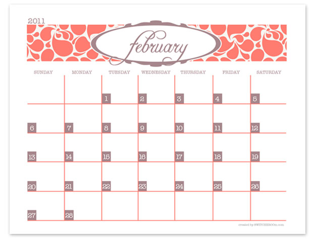 Free printable calendar make your own custom printable for Create custom planner