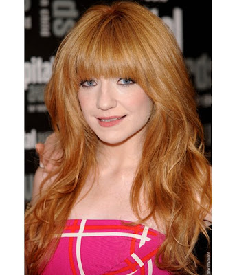 Celebrity hairstyles - haircuts: Lili Cole hair color
