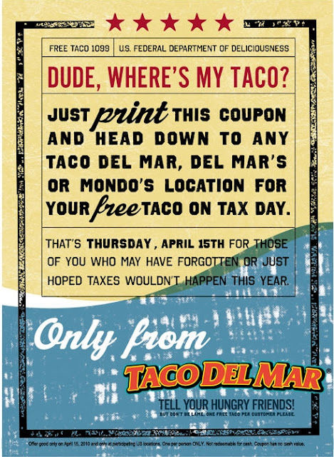 Today's top Taco Del Mar coupon: Explore Our Extensive Menu of Burritos, Tacos, Bowls, and More.. Get 4 coupons for