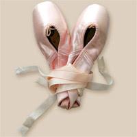 BUON COMPLEANNO ORCHIDEA Scarpette-danza
