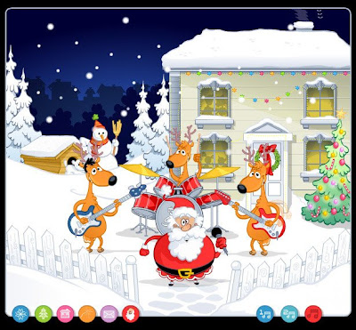 adult christmas cartoon wallpaper - photo #15