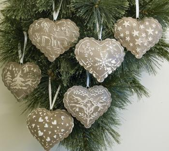 Christmas Love Heart Wallpaper