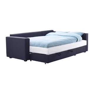 Blue M Nstad Ikea Couch Corner Sofa Bed With Storage
