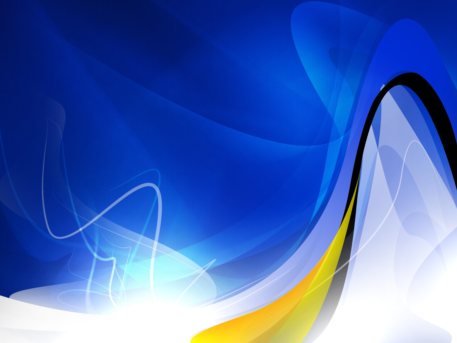 Nice Abstract Wallpaper Blue With Yellow White And Black Stripes