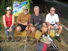 Los 4 peregrinos en El Yunque