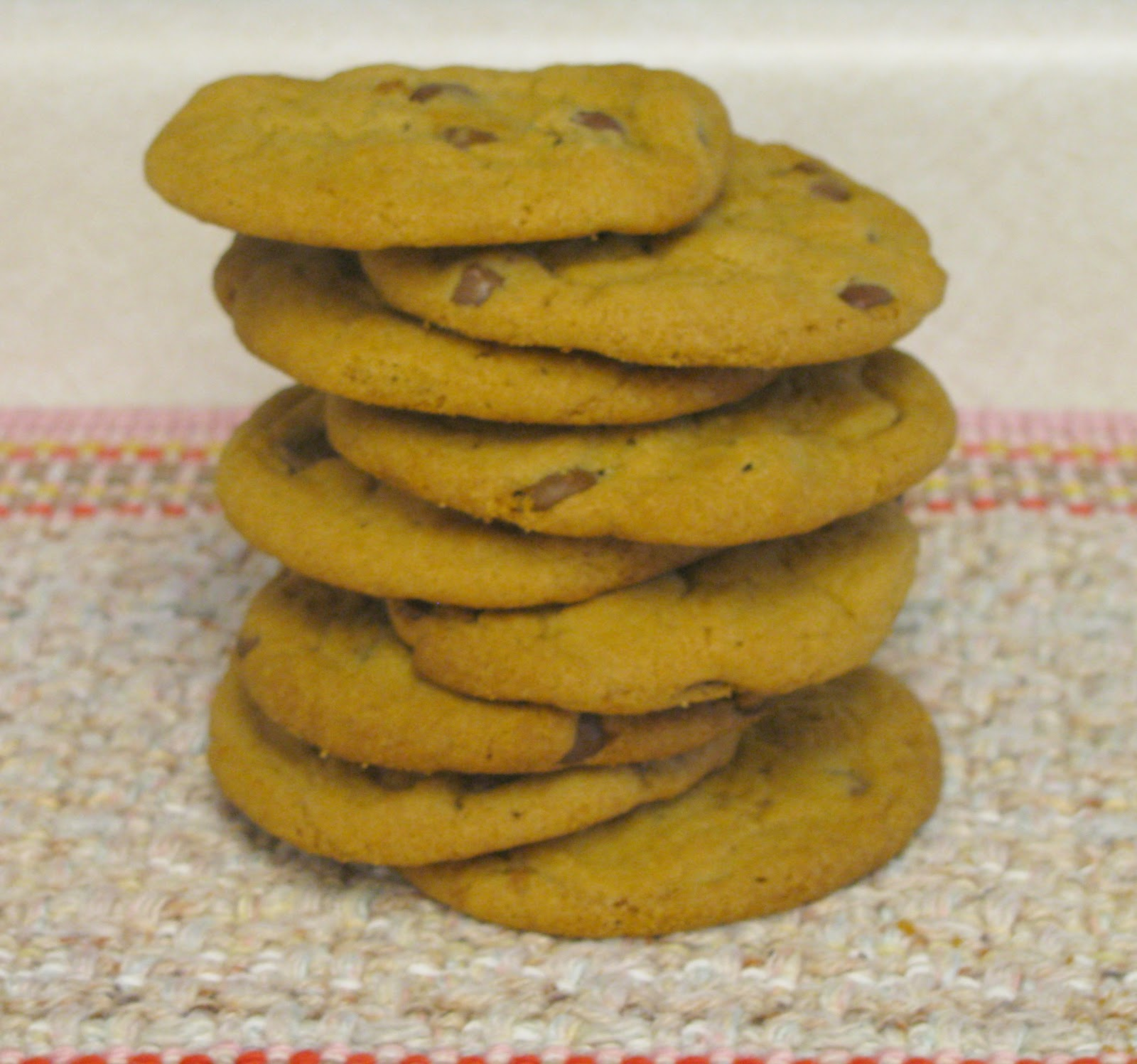 The Art Of Baking: Crispy And Chewy Chocolate Chip Cookies.... Yum :D